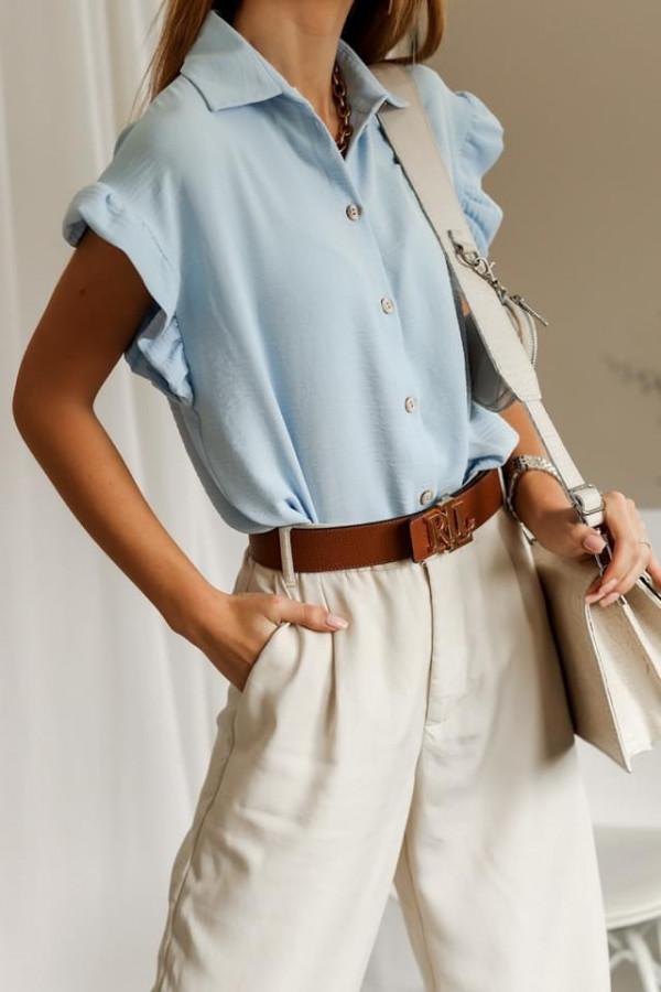 Bluzeczka BETTY Light Blue 1