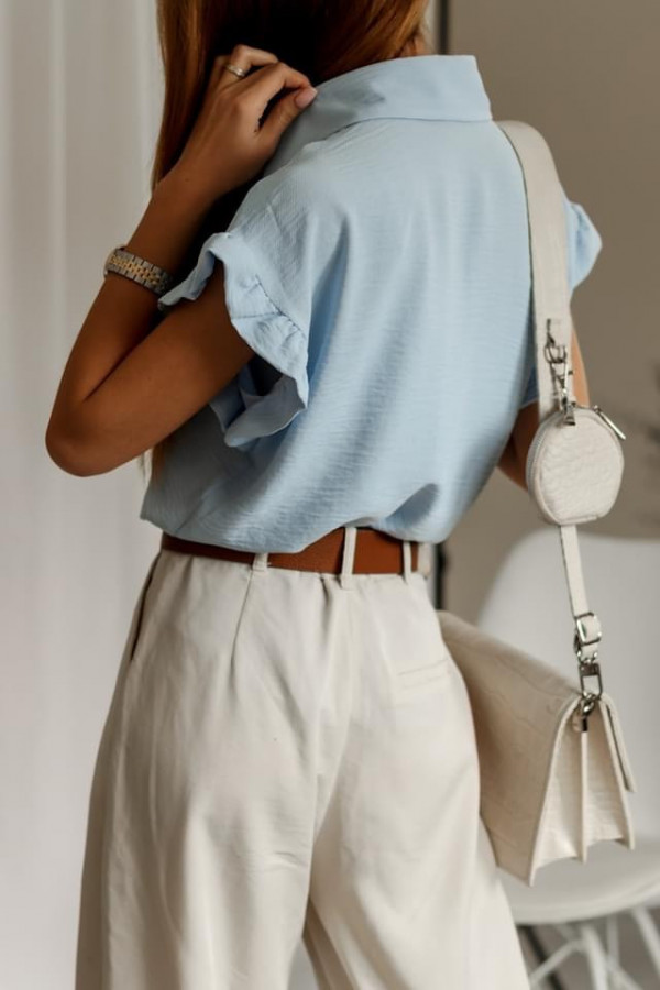 Bluzeczka BETTY Light Blue 2