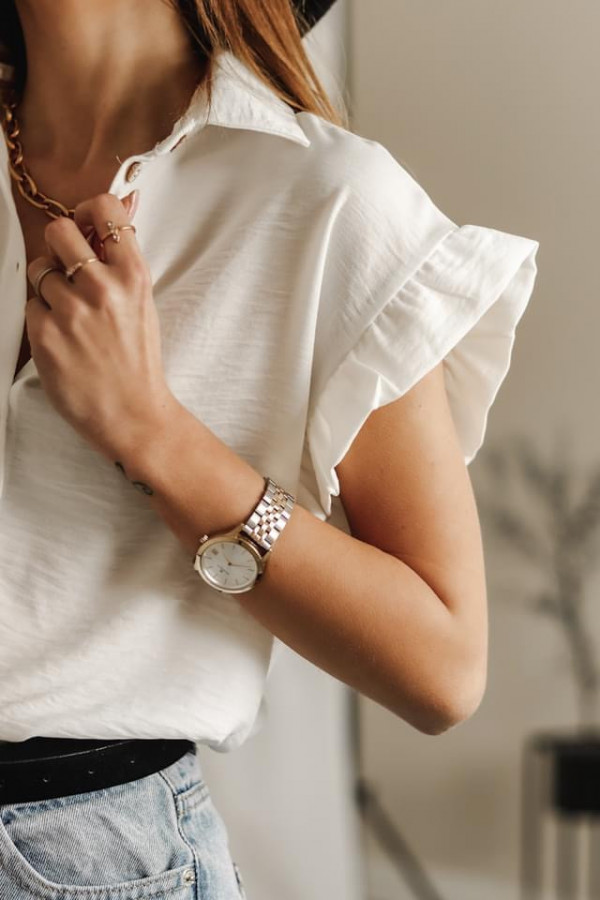 Bluzeczka BETTY White 1