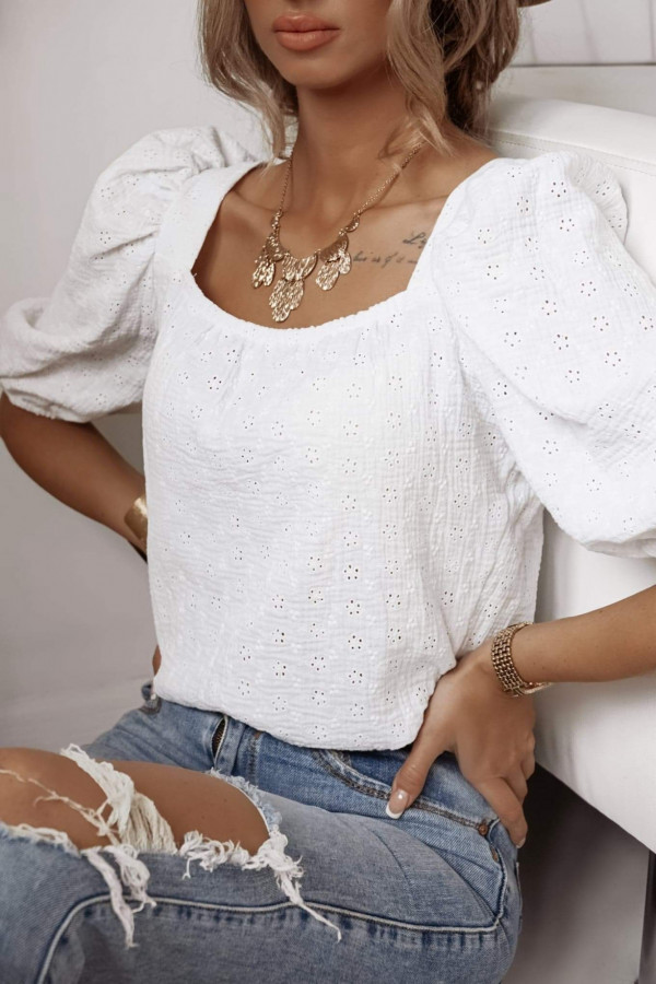 Bluzeczka SUNNY White 1