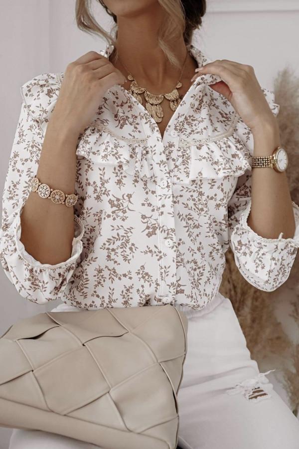 Bluzeczka MOLLY Beige Flower