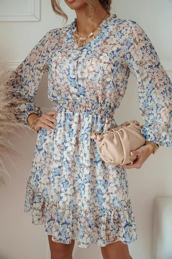Sukienka FLORENCE Blue Flower