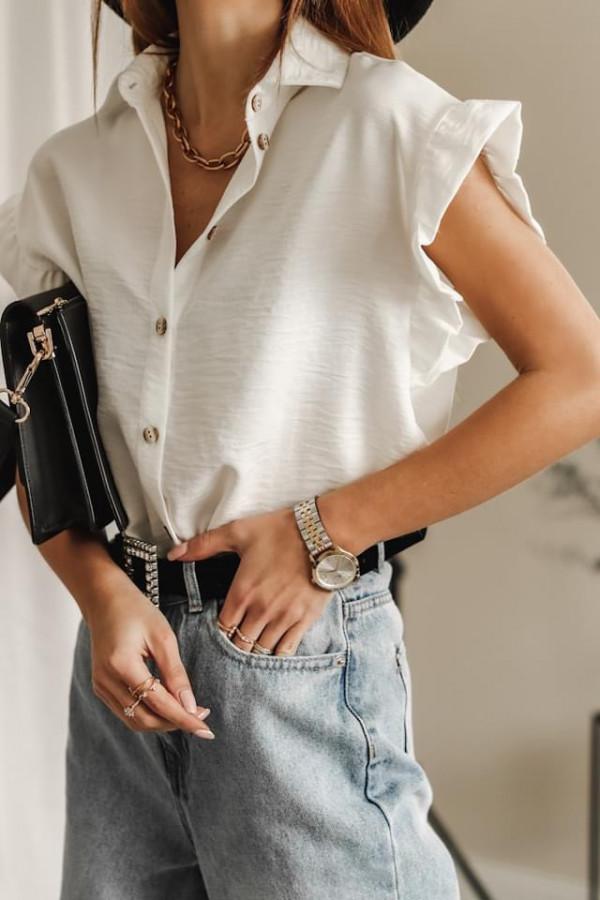 Bluzeczka BETTY White