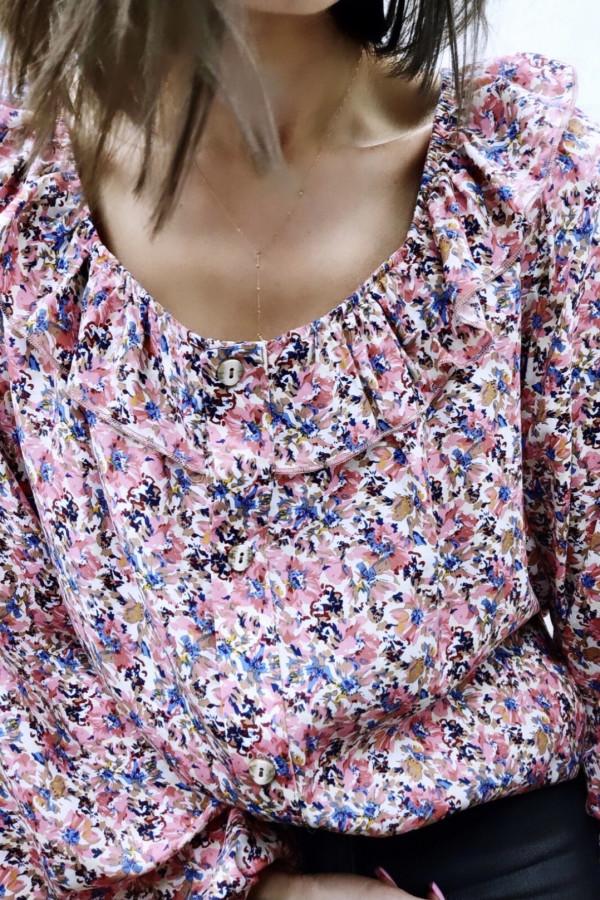Bluzeczka MOLLY Pink Flower