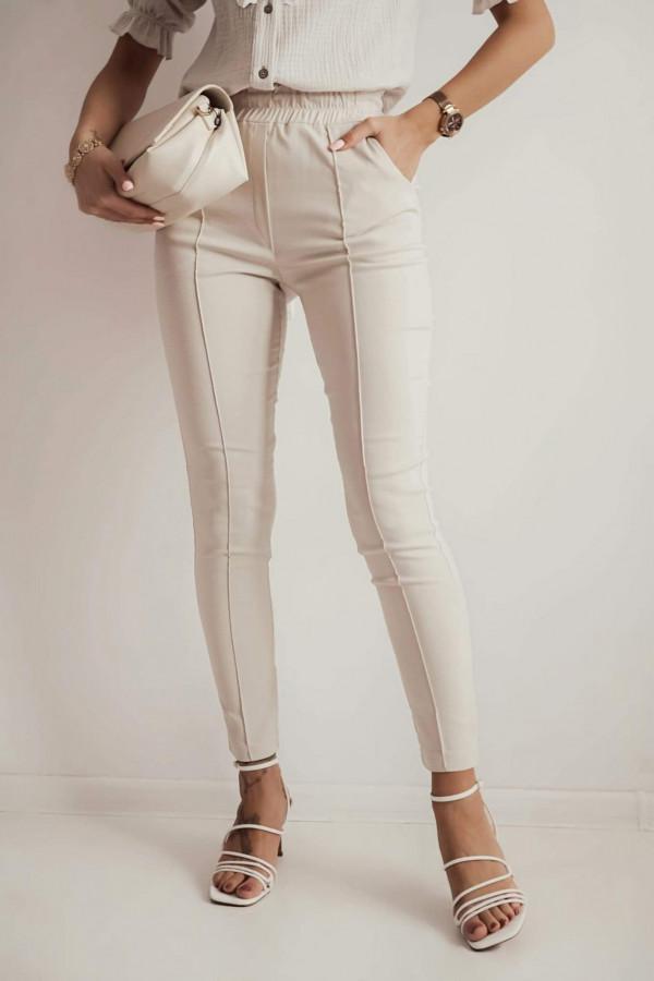 Spodnie CARO Light beige