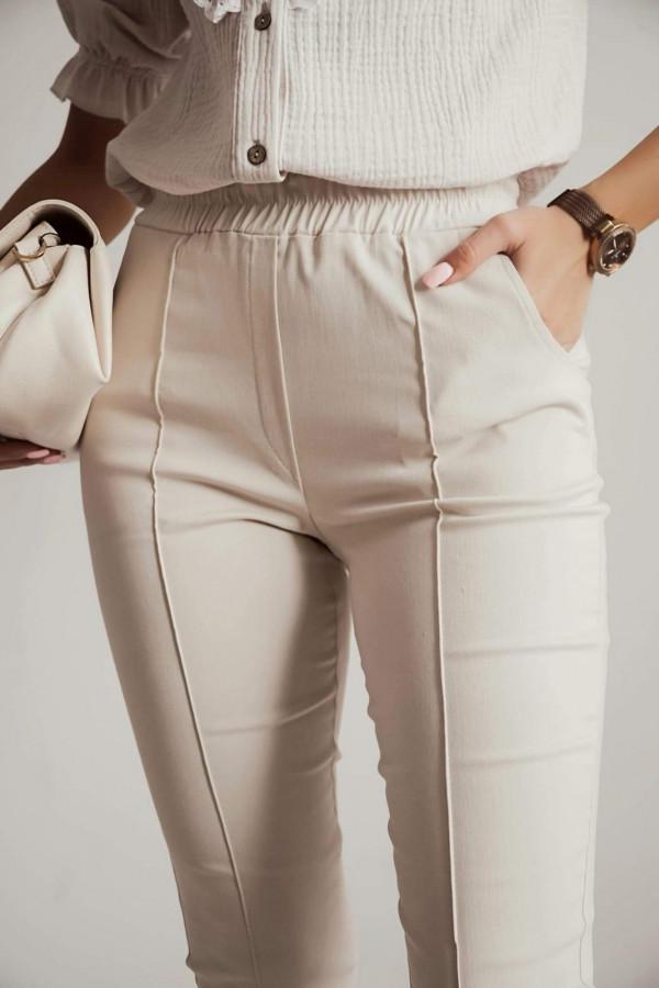 Spodnie CARO Light beige 1