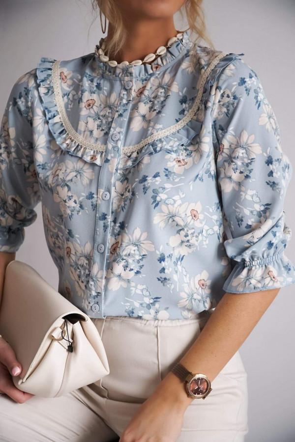 Koszula LUI Blue Flower