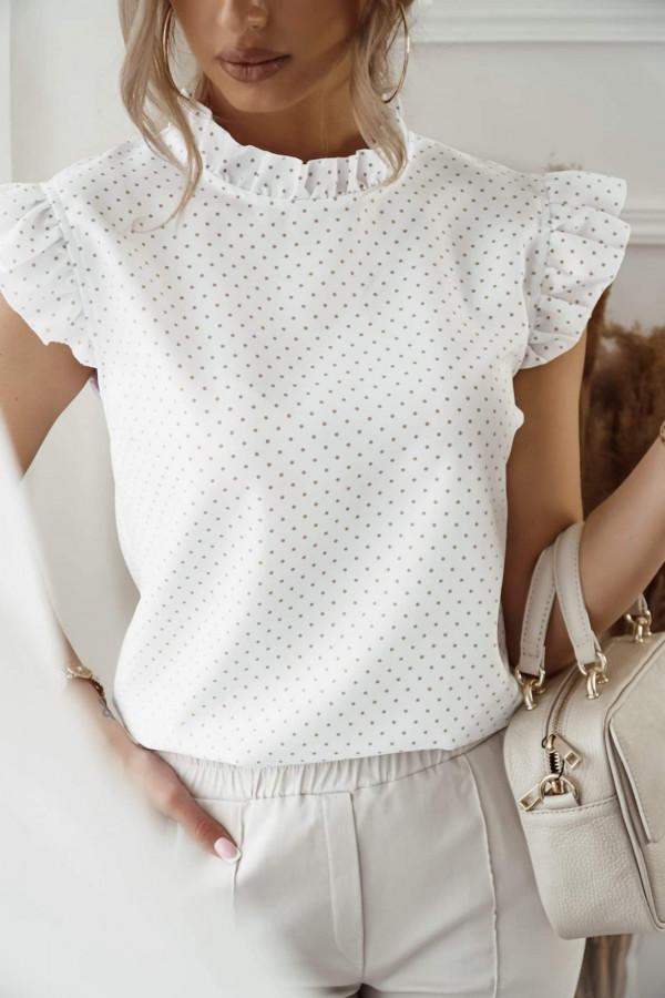 Bluzeczka ELLA White Dots