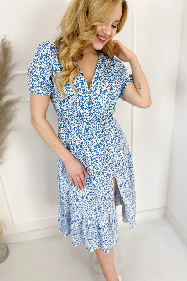 Sukienka EMMA Ocean Blue 1