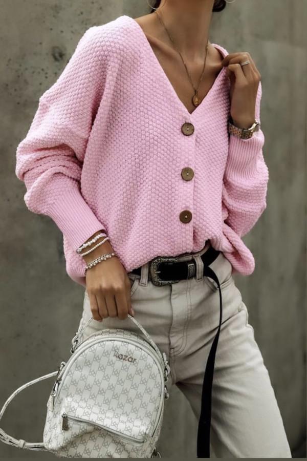 Kardigan SUNNY Light Pink