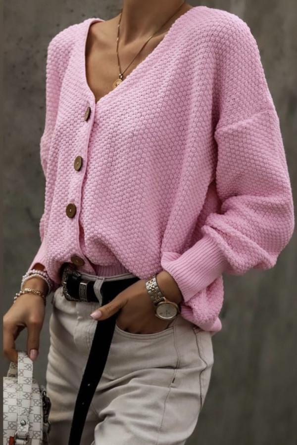 Kardigan SUNNY Light Pink 1