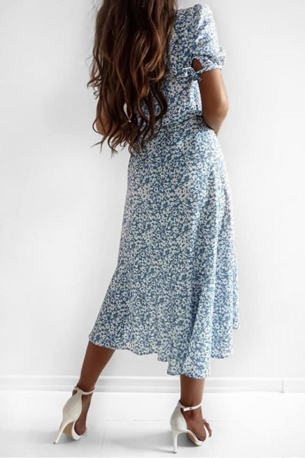 Sukienka SHEILA Blue Flower 2