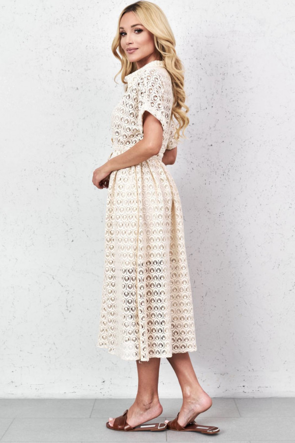 Sukienka GLORIA Beige 1