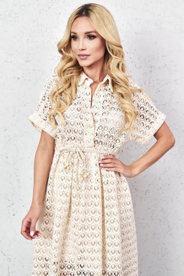 Sukienka GLORIA Beige 2