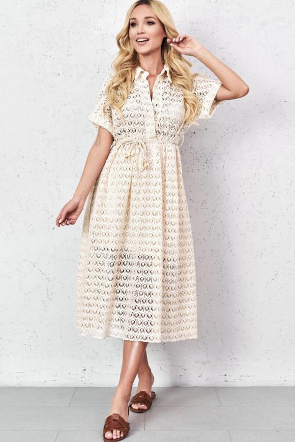 Sukienka GLORIA Beige 3
