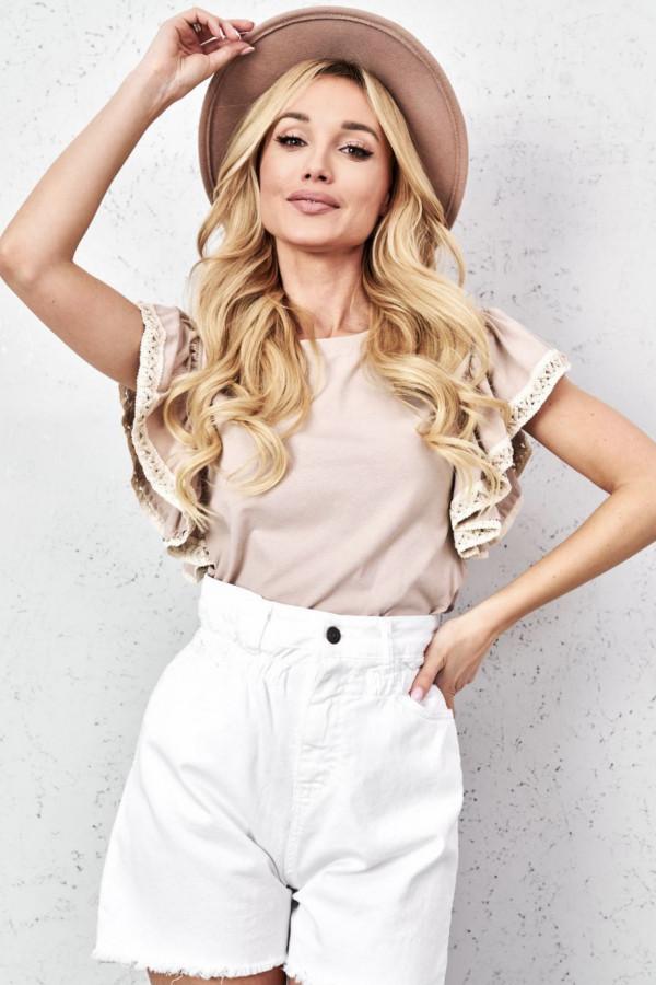Bluzeczka LORA Beige