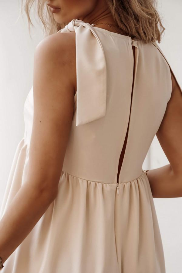 Sukienka MELLIA Beige 2