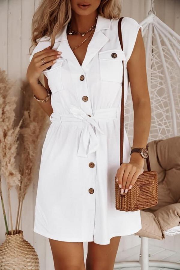 Sukienka NELL White