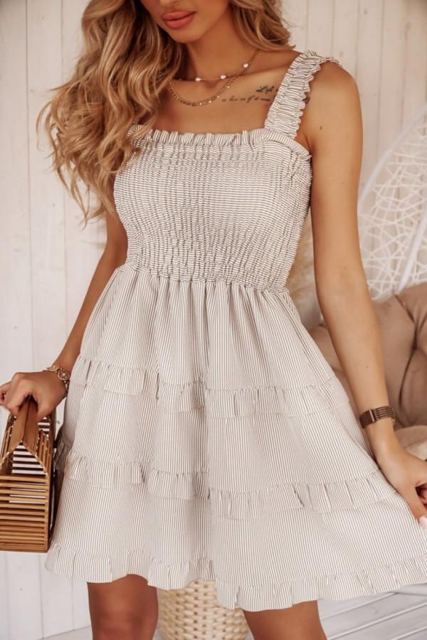 Sukienka STEFFI Beige
