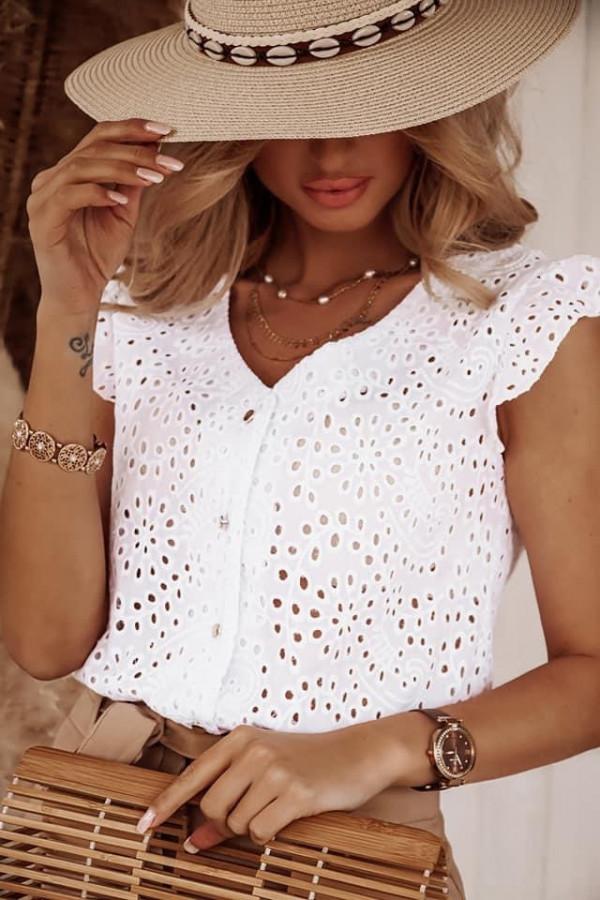 Bluzeczka TINA White