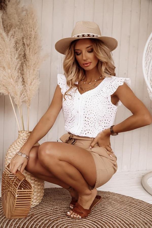 Bluzeczka TINA White 2