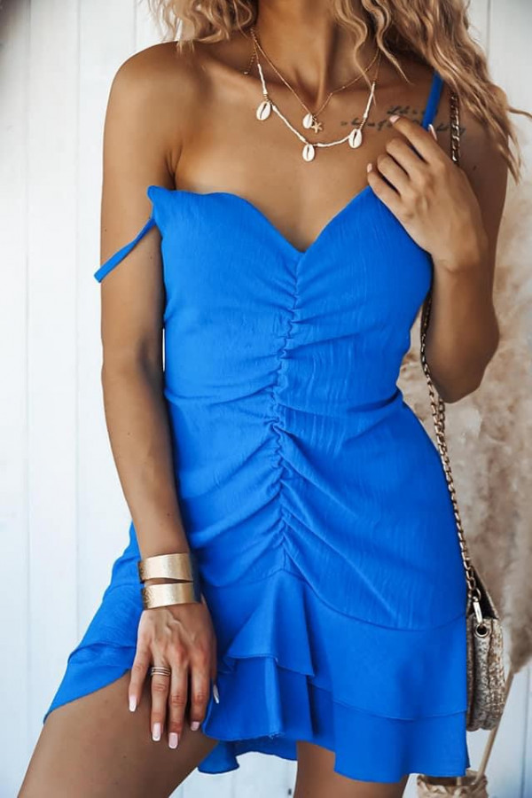Sukienka SANTORINII Ocean Blue