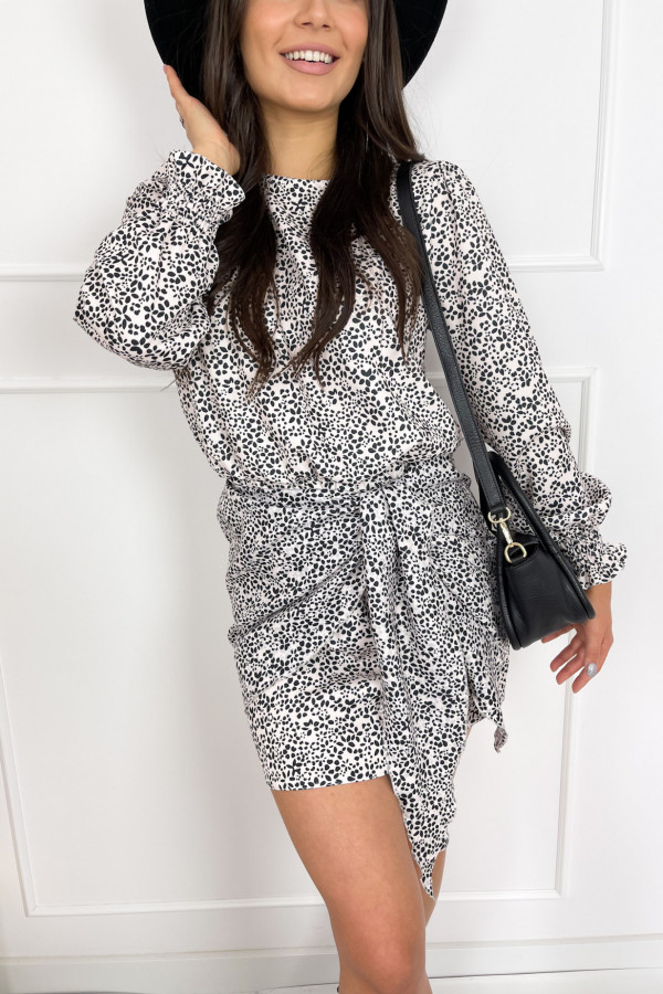 Sukienka FIBI Black and White 1