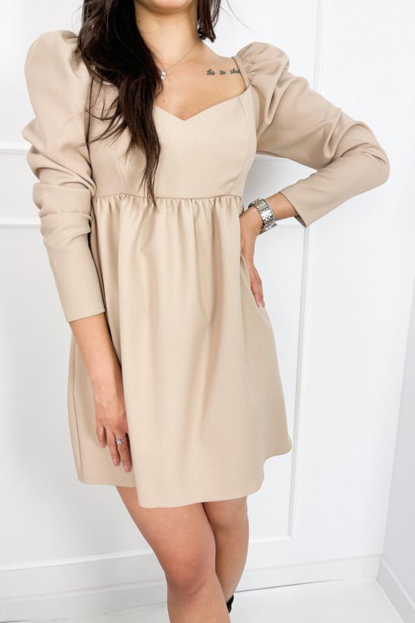 Sukienka CHARLOTTE Beige 1
