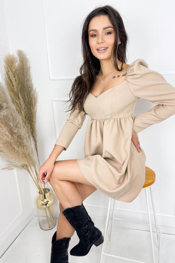 Sukienka CHARLOTTE Beige 2
