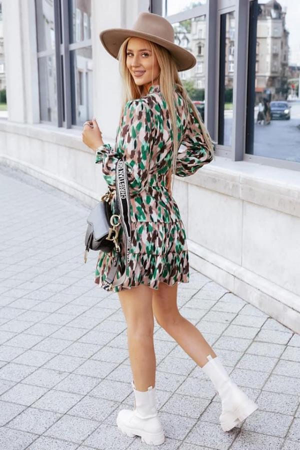 Sukienka GINNY Green Power 1