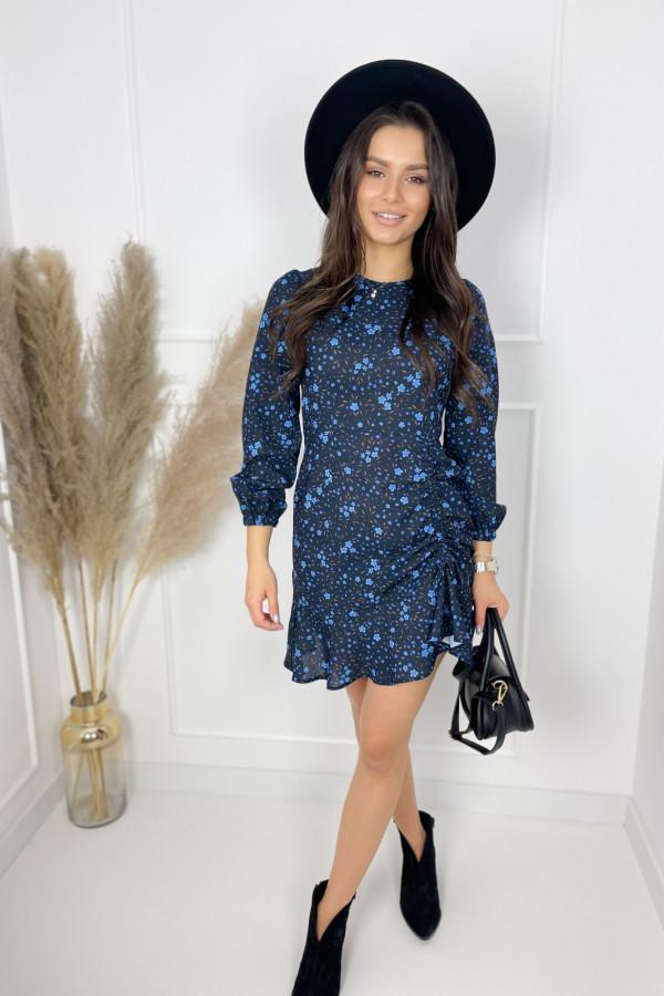 Sukienka MADISON Blue Flower