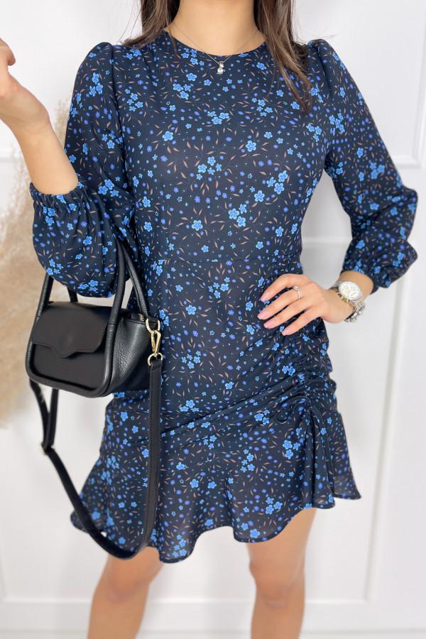 Sukienka MADISON Blue Flower 1