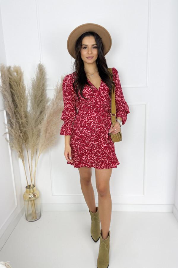 Sukienka EVA Red 2