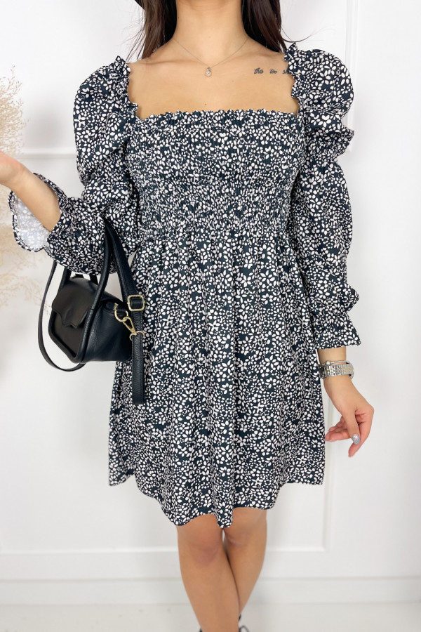 Sukienka CARRIE Black and White 1