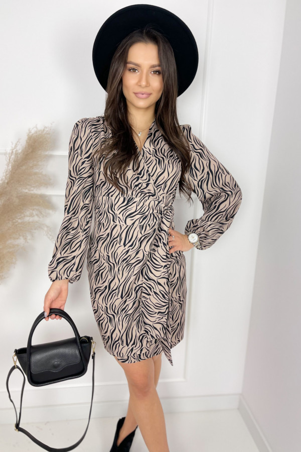 Sukienka ROSE Zebra