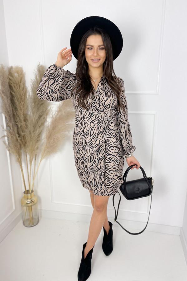 Sukienka ROSE Zebra 1
