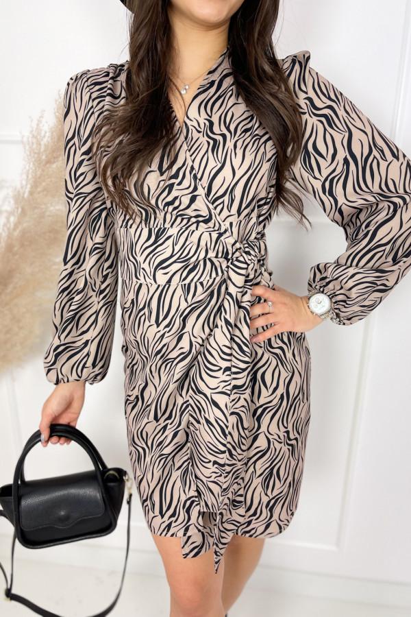 Sukienka ROSE Zebra 2
