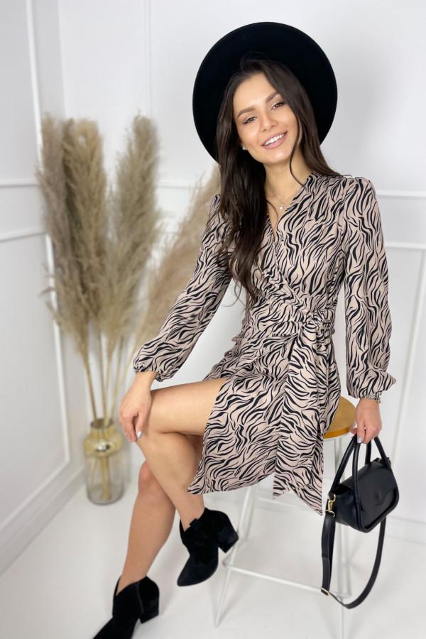 Sukienka ROSE Zebra 3