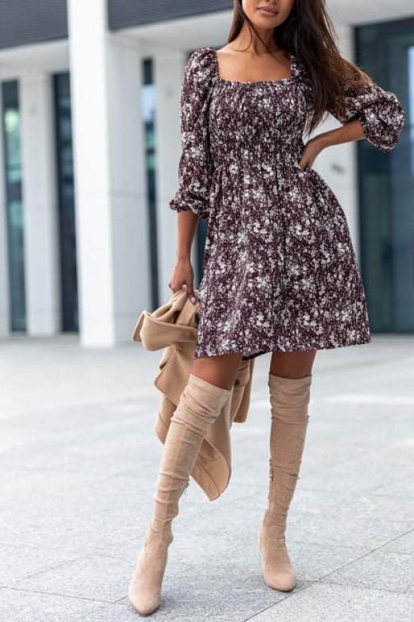 Sukienka VALERIA Chocolatte 1