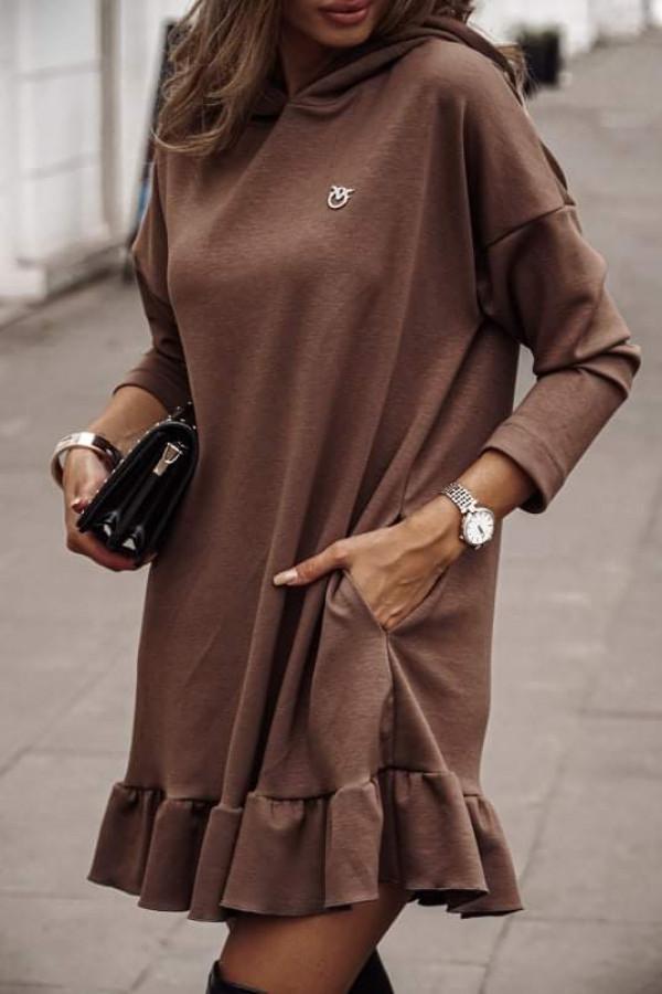 Sukienka NUMI Chocolate
