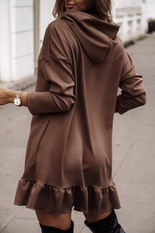 Sukienka NUMI Chocolate 1