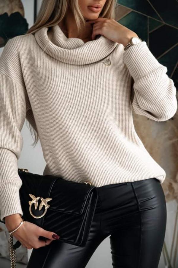 Sweter z golfem FABIOLA